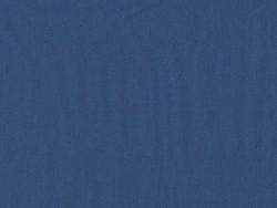 Tissu polycoton uni - bleu Blueberry