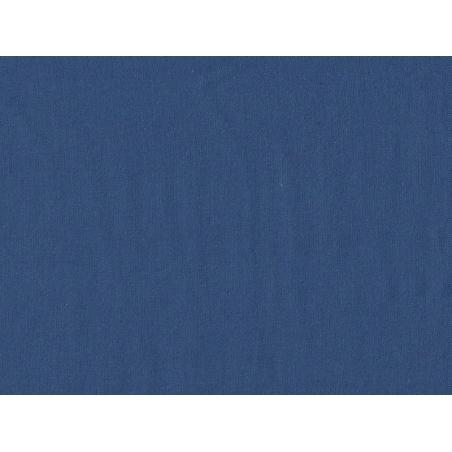 Tissu polycoton uni - bleu Blueberry Motif Personnel - 1