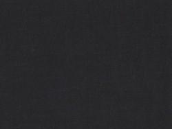 Tissu polycoton uni - noir Réglisse