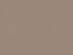 Tissu polycoton uni - marron Noix