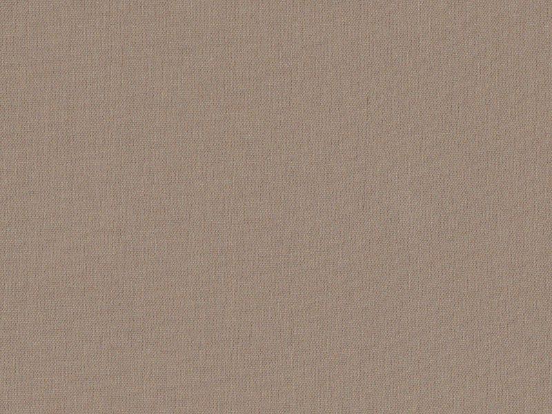 Cotton blend fabric - hazel brown
