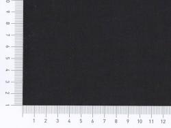 Cotton blend fabric - liquorice black