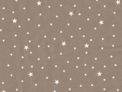 Star-printed cotton blend fabric - Hazel