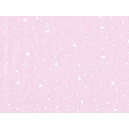 Acheter Tissu polycoton étoiles - rose litchi - 1,29€ en ligne sur La Petite Epicerie - 100% Loisirs créatifs