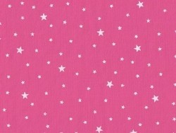Star-printed cotton blend fabric - Praline pink