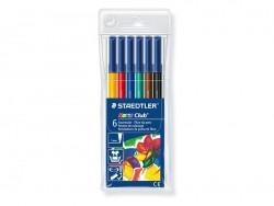Acheter Pochette 6 feutres de coloriage - 3,35€ en ligne sur La Petite Epicerie - 100% Loisirs créatifs