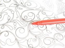 Feutre de coloriage - Rouge