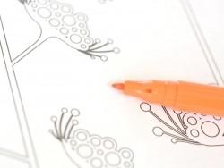 Feutre de coloriage - Orange