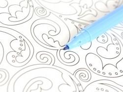 Feutre de coloriage - Bleu clair