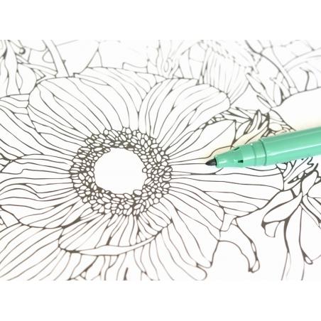 Feutre de coloriage - Vert foncé