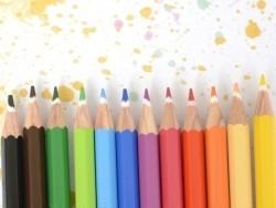 Pochette 12 Crayons de couleur