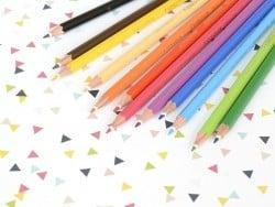 36 Crayons de couleur