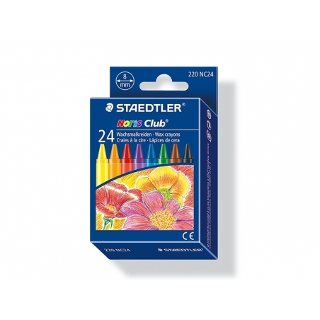 Acheter 24 pastels à la cire - 4,40€ en ligne sur La Petite Epicerie - 100% Loisirs créatifs