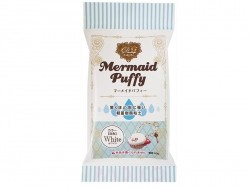 Mermaid Puffy - white