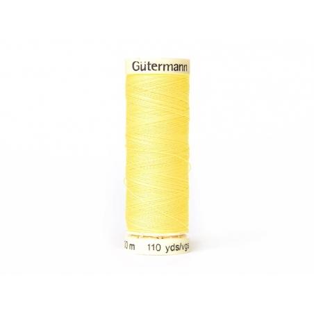 Fil pour tout coudre -100 m- jaune 852 Gütermann  - 1