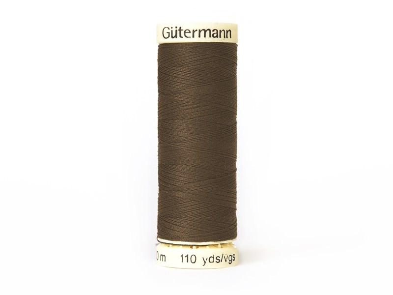 Sew-all thread - -100 m - Brown (colour no. 124)