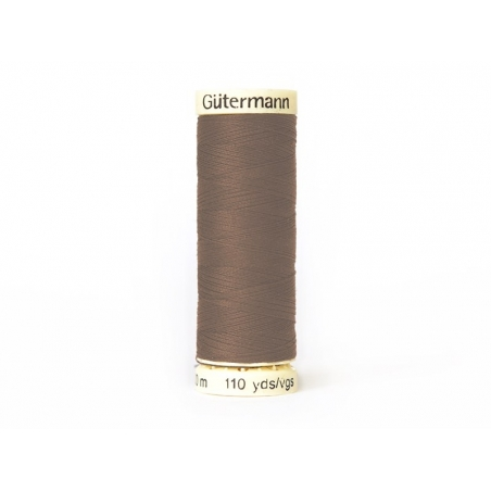 Sew-all thread - 100 m - Brown (colour no. 216)