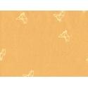 Tissu Bye bye birdie oiseau moutarde - Atelier Brunette