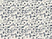 Tissu Shape Blue - Atelier Brunette