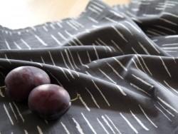 Tissu Chalk Charcoal -  Atelier Brunette