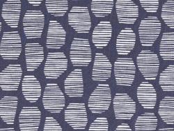 Tissu Halo Blue - Atelier Brunette