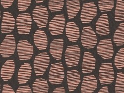 """Halo brown"" fabric - Atelier Brunette"
