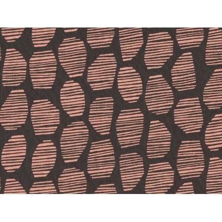 """Halo brown"" fabric - Atelier Brunette"