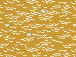 "Stoff - ""Golden Moon"" - Atelier Brunette"