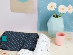 Tissu Cachette -  Fifi Mandirac pour Atelier Brunette