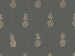 Tissu polycoton a nana's Fabric Aime comme Marie - Kaki