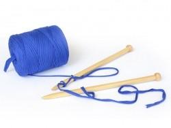 Grande bobine de fil Hoooked Zpagetti - Bleu électrique