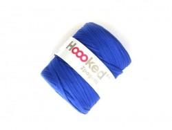"Große Rolle Textilgarn - ""Hooked Zpagetti"" - kobaltblau"