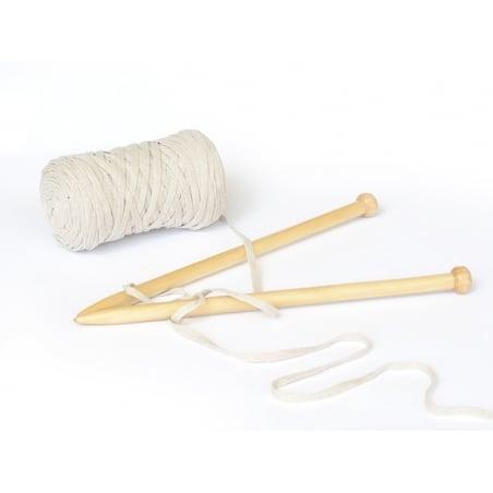 Bobine de fil Hoooked Zpagetti ribbon XL - Beige Hoooked Zpagetti - 2
