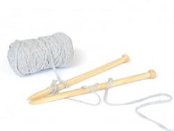 Bobine de fil Hoooked Zpagetti ribbon XL- Gris chiné