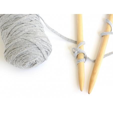XL Hooked Zpagetti ribbon - Heather grey