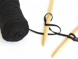Bobine de fil Hoooked Zpagetti ribbon XL- Noir Hoooked Zpagetti - 3