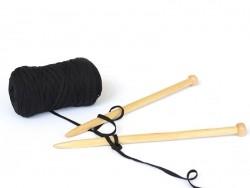 """Hooked Zpagetti"" - Ribbon XL - schwarz"