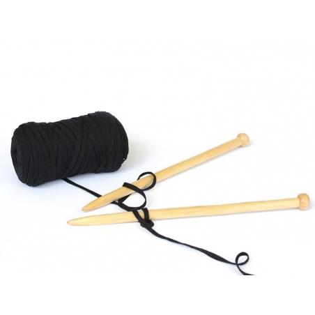 Acheter Bobine de fil Hoooked Zpagetti ribbon XL- Noir - 11,90€ en ligne sur La Petite Epicerie - Loisirs créatifs