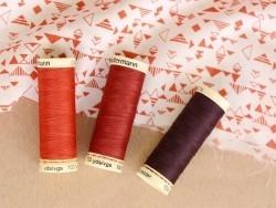 Sew-all thread - 100 m - Burgundy (colour no. 221)