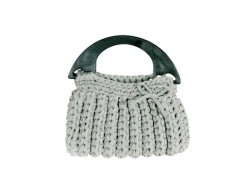 Hooked Zpagetti kit - grey handbag