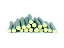 Cane citron vert clair -  - en pâte fimo - modelage  - 1