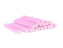 Cane paquerette rose flashy