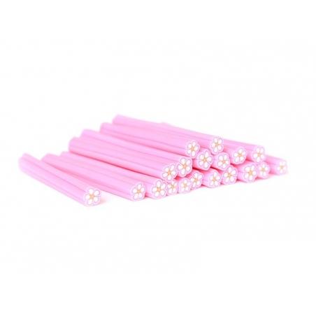 Acheter Cane paquerette rose flashy en pâte polymère - 0,99€ en ligne sur La Petite Epicerie - Loisirs créatifs