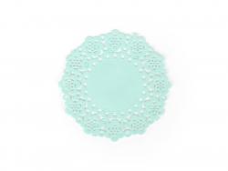 75 mini napperons -  Turquoise