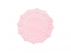 75 Zierdeckchen - cupcakerosa