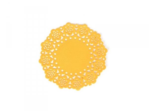 75 mini napperons -  Mandarine