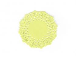 75 mini napperons -  Vert anis