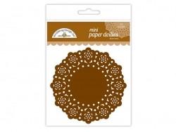 75 mini napperons -  Chocolat