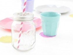 Mason jar en verre Dotcomgiftshop - 3
