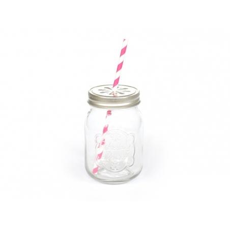Mason jar en verre Dotcomgiftshop - 4